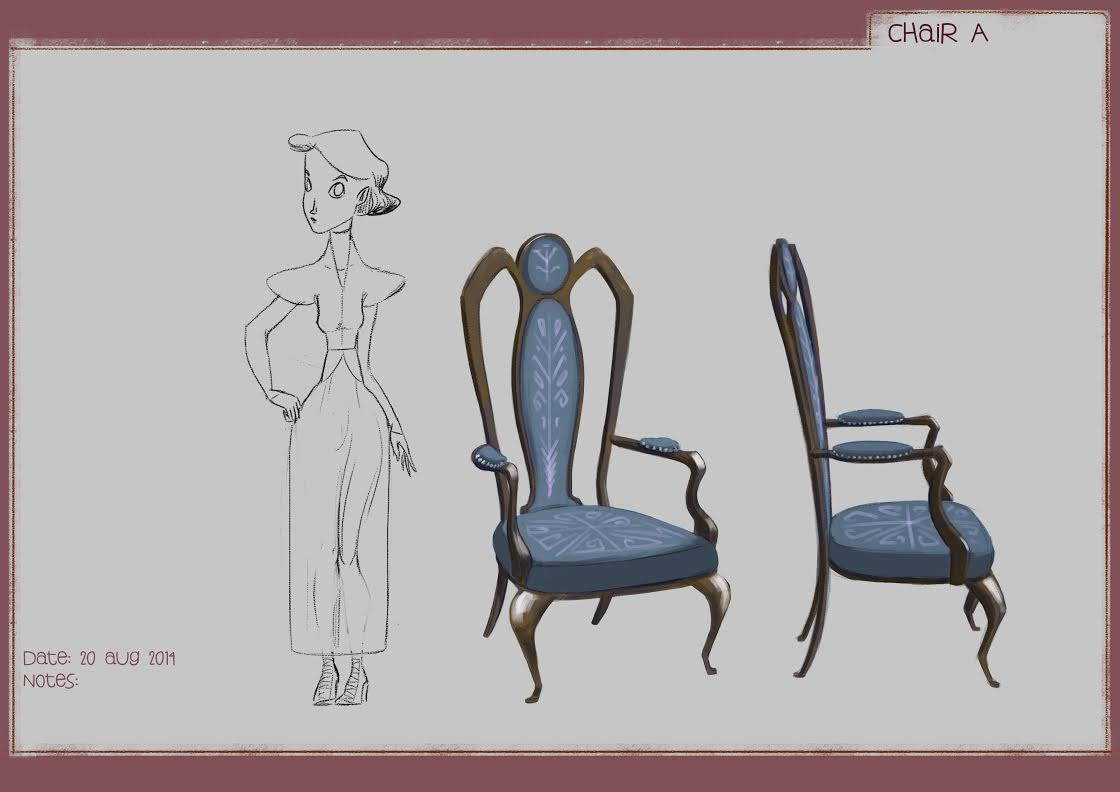 Chair Model Sheet