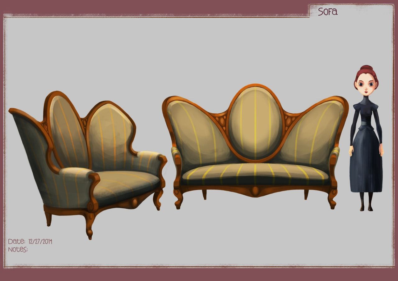 Couch Model Sheet