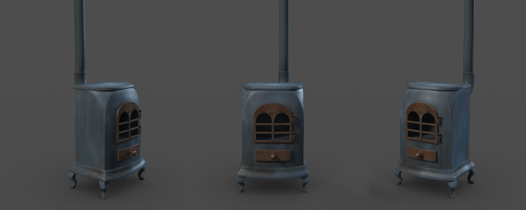wood-burner Render