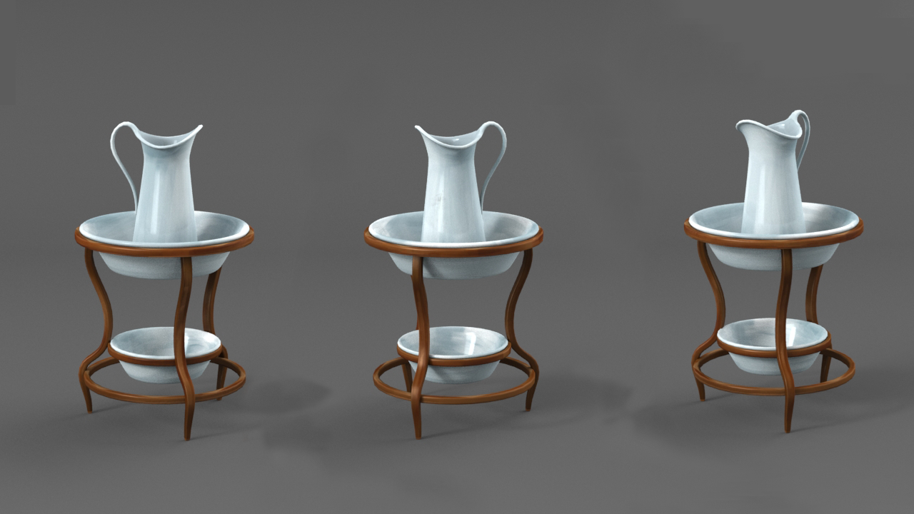 Wash Basin Render